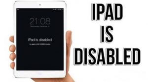 3 Method: How to Fix iPad is disabled connect to iTunes