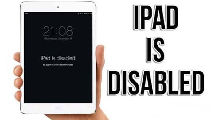 most iPad users must be wondering what is the problem of Disabled Device. Here are some methods to deal with problem of iPad is disabled connect to iTunes