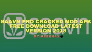 Saavn Pro Cracked MOD APK