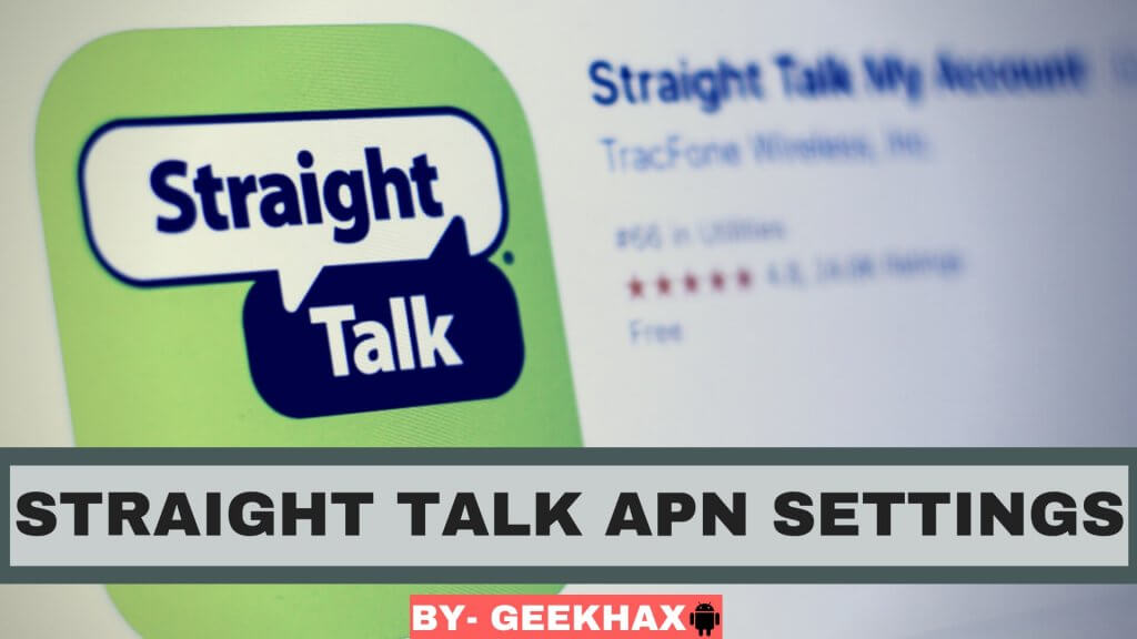 Complete Guide on Straight Talk APN Settings 2019