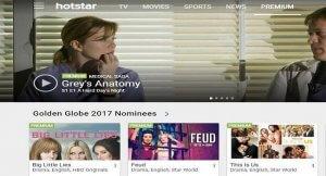 Hotstar TV Series