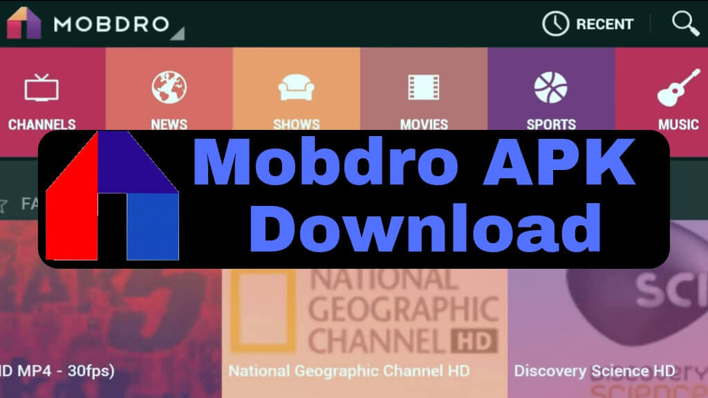 Mobdro APK Download