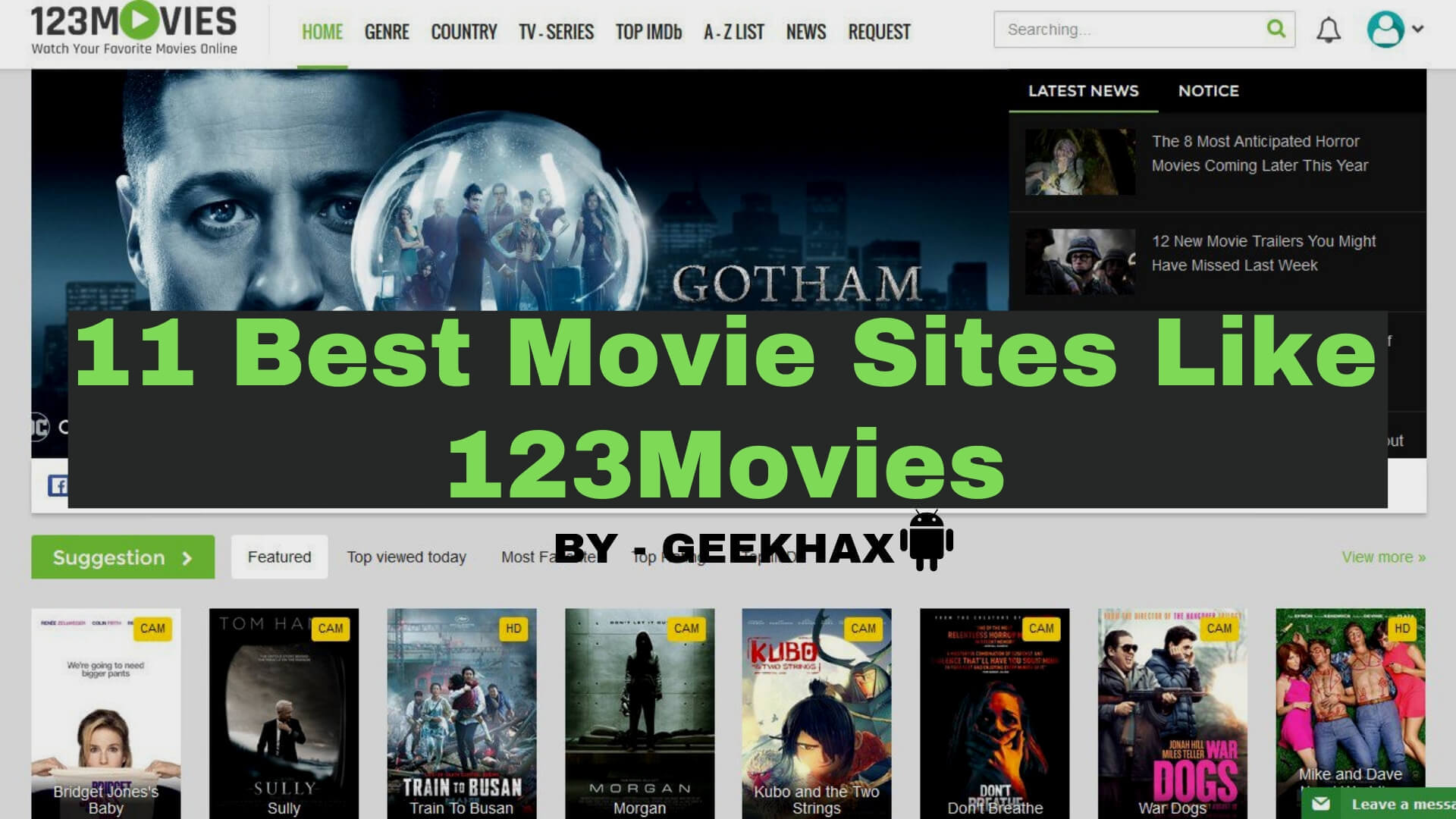 123movies alternatives 2019