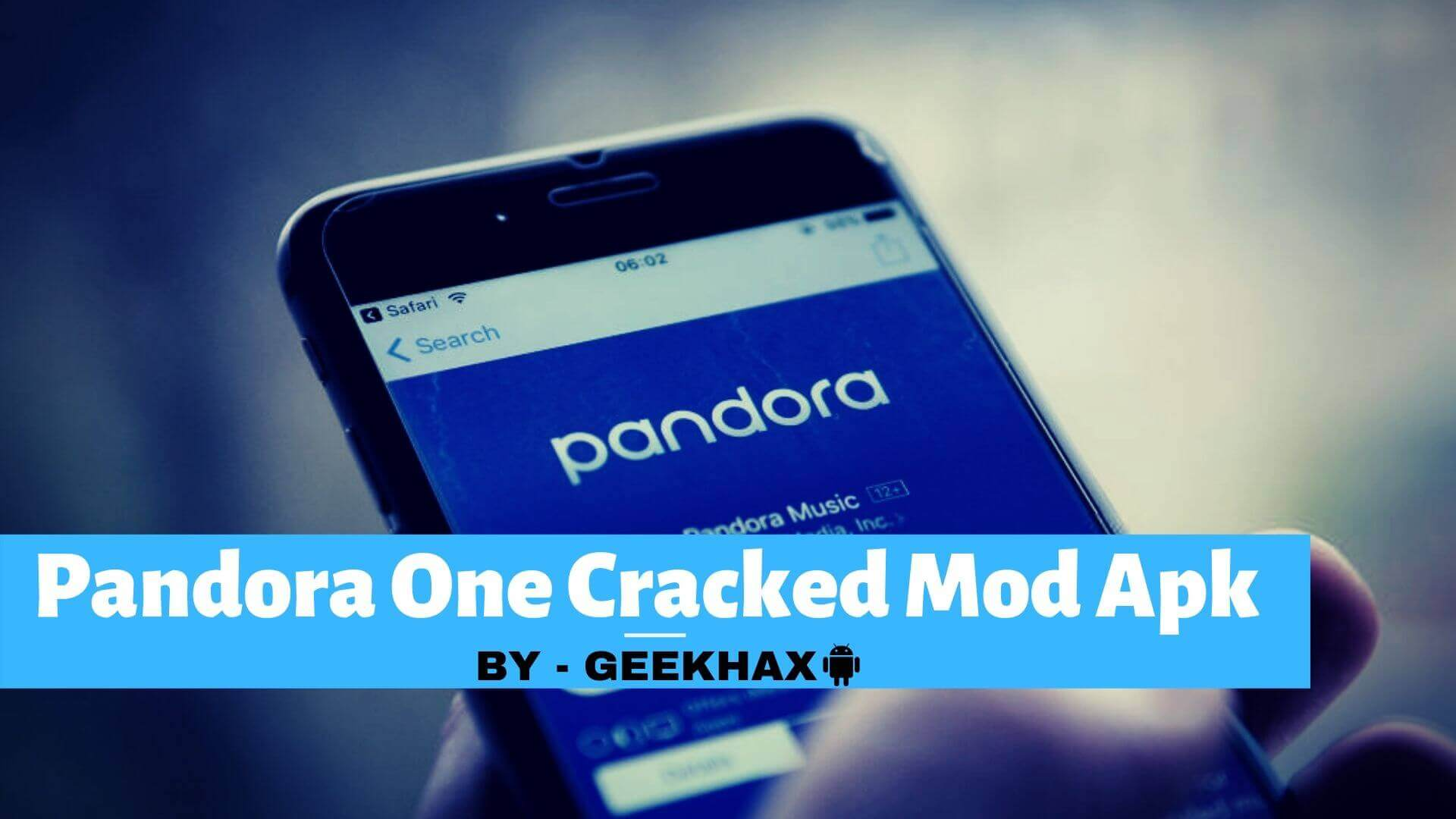 Pandora One Cracked Mod APK Free Download With Unlimited Skips